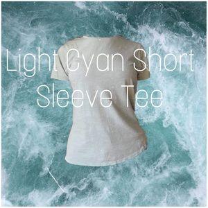 Light Cyan tee shirt